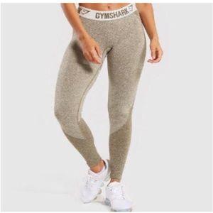 Gymshark Sz Sm Flex Leggings In Khaki